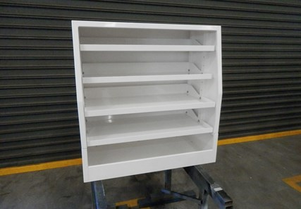 900 Long x 500 Wide  x 950mm High Shelf Set