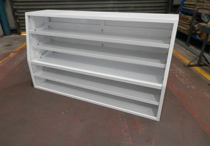 1650 Long x 500 Wide x 950mm High Shelf Set