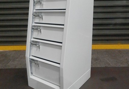 440mm long x 500 deep x 850mm high Drawer Set